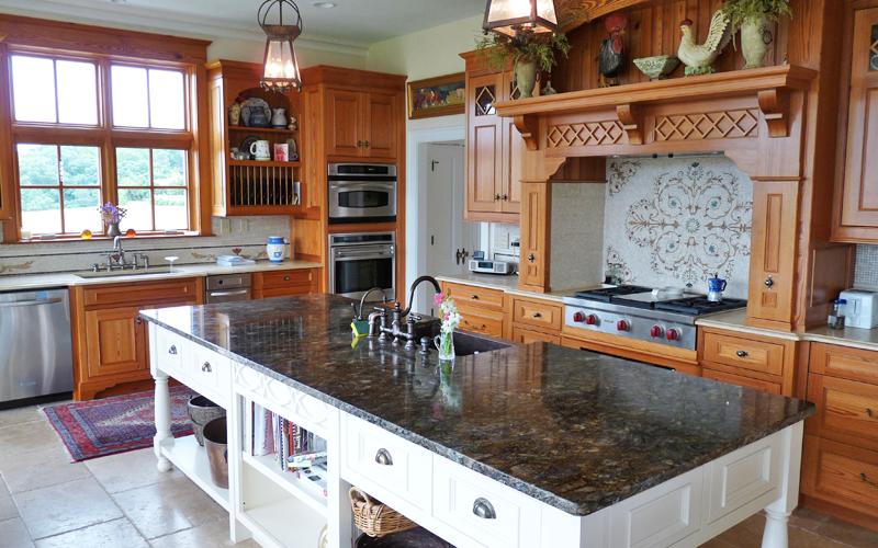 Trademark Woodworking Kitchen